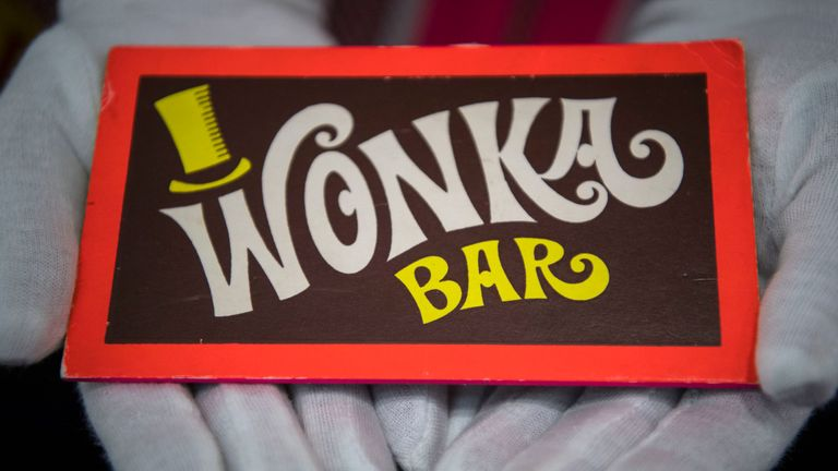 A Wonka Bar from Willy Wonka and the Chocolate Factory (1997)