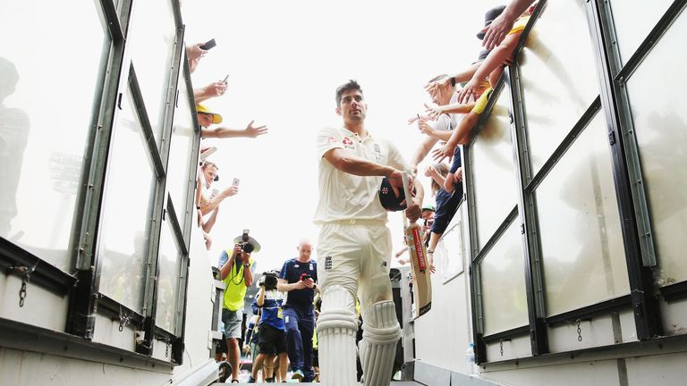 Check out some of Alastair Cook's career highlights ahead of his 161st and final Test