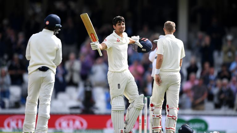 Watch the best of Cook's final Test innings