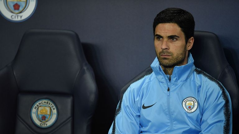 Arteta: Pep absence no excuse