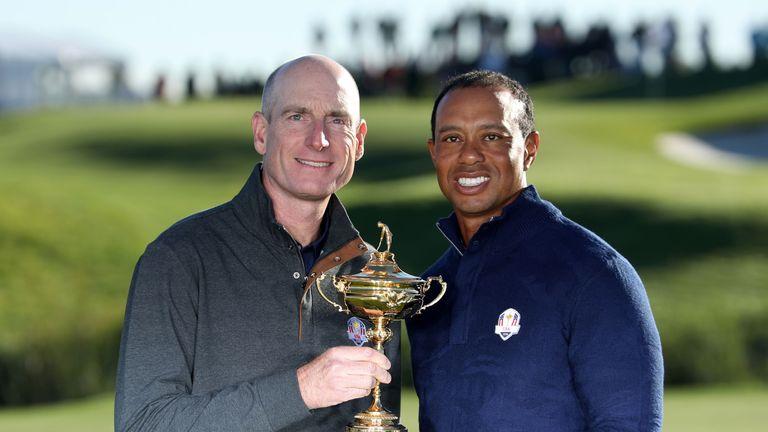 Jim Furyk, Tiger Woods
