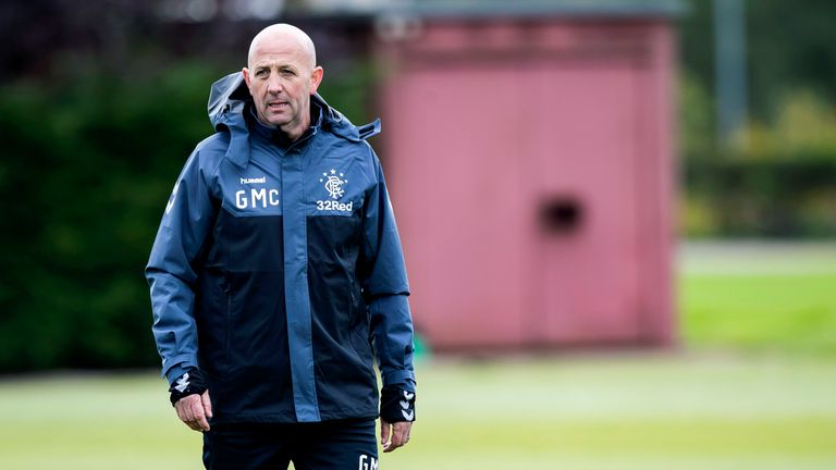 Gary McAllister says Rangers' players need to improve their discipline | Football News |