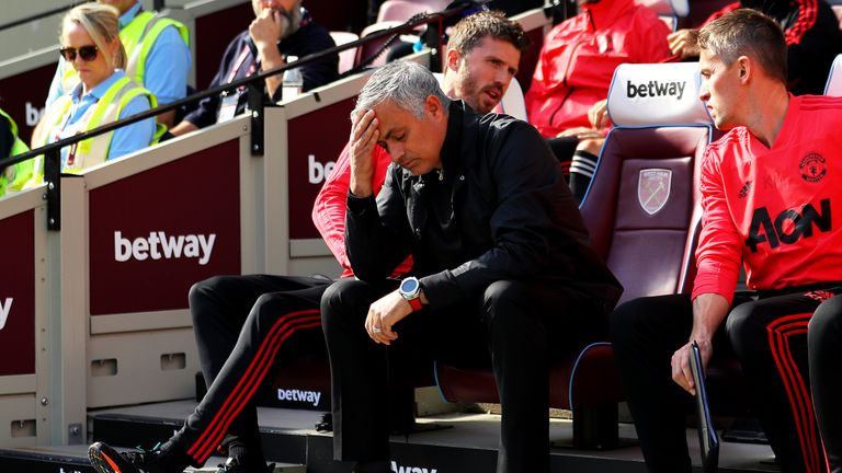 Some 'care more than others' about Man Utd crisis - Mourinho