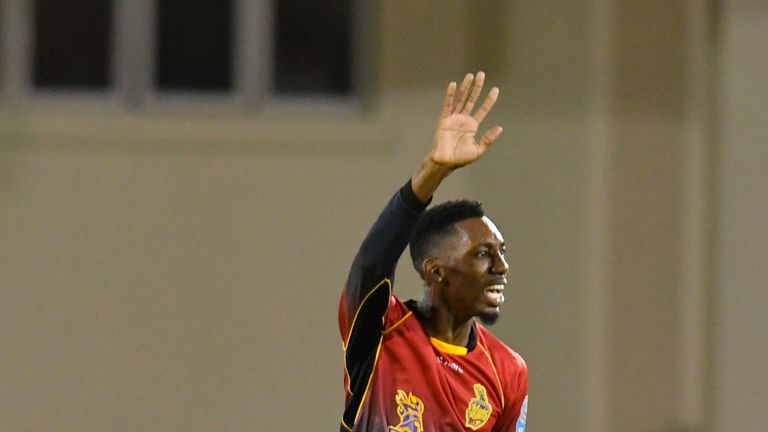 Khary Pierre takes brilliant return catch for Trinbago in the CPL final