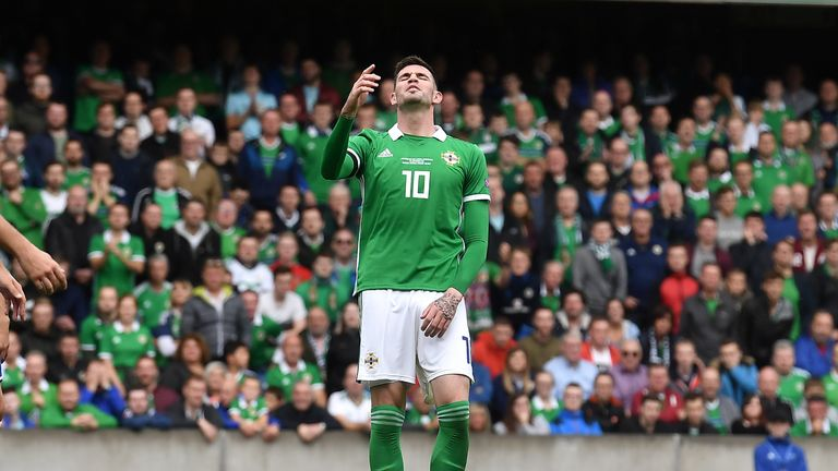 Kyle Lafferty rules himself out of Northern Ireland double-header