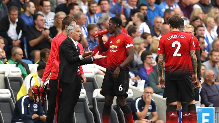 Mourinho wants the Manchester United board to back him over Pogba feud