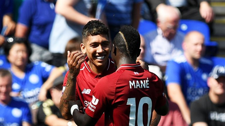 Roberto Firmino: Liverpool striker 'OK' after eye 'scare'