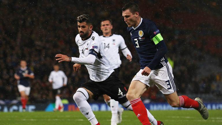 Scotland 2-0 Albania