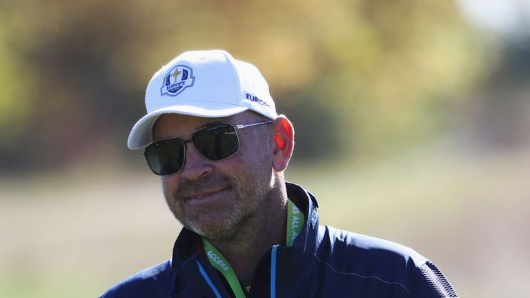 ahead of the 2018 Ryder Cup at Le Golf National on September 26, 2018 in Paris, France.