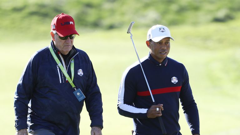 ahead of the 2018 Ryder Cup at Le Golf National on September 25, 2018 in Paris, France.