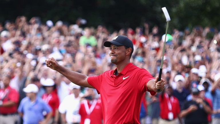 47dad42396581 Tiger Woods wins Tour Championship to return to winner s circle as ...