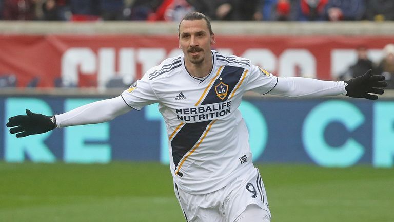 Zlatan Ibrahimovic Turned Into 'God Of Goals' By LA Galaxy