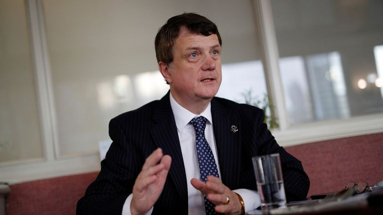 UKIP leader Gerard Batten