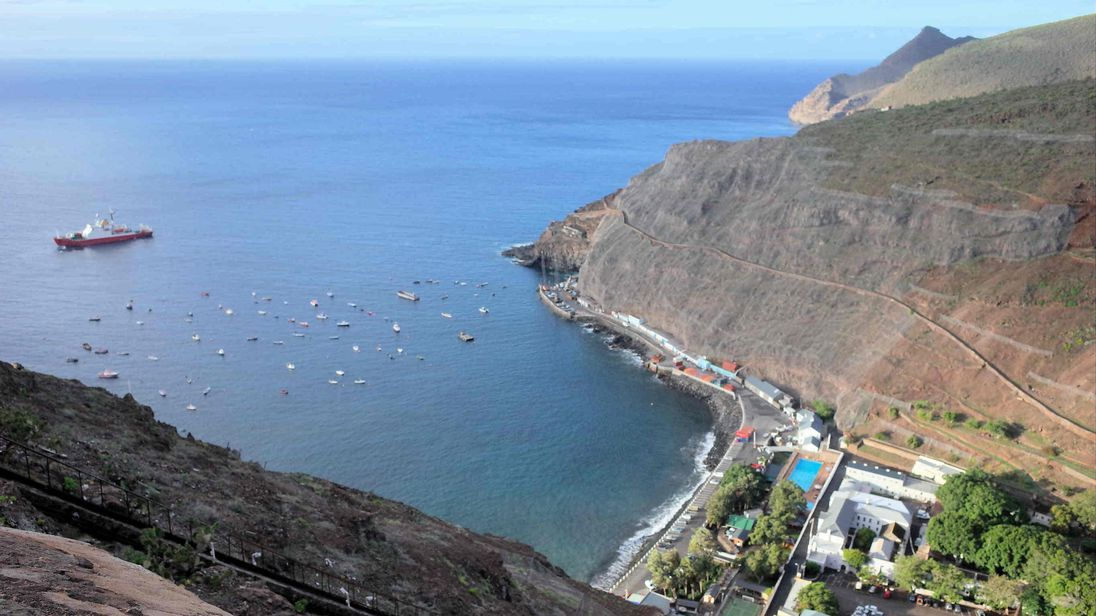 BAS researchers have discovered increasing levels of plastic on the remote island of St Helena. Pic: David Barnes/BAS