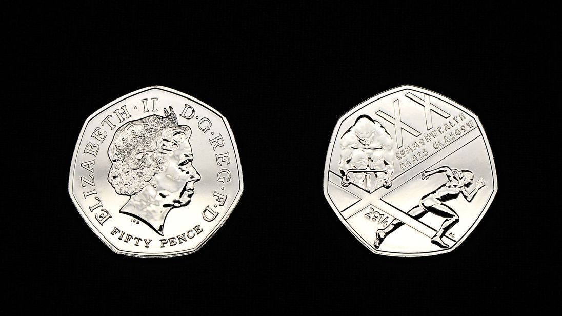 Image result for brexit 50 p coin