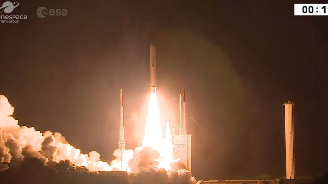 Japan, Europe launch space probes to survey Mercury