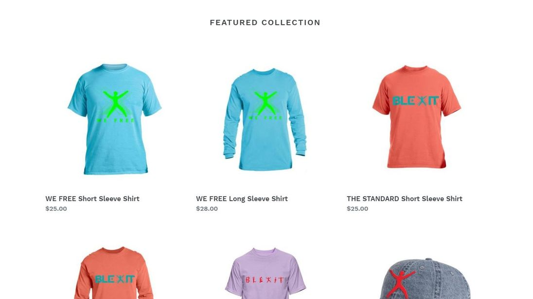 what is blexit kanye west s new clothing line