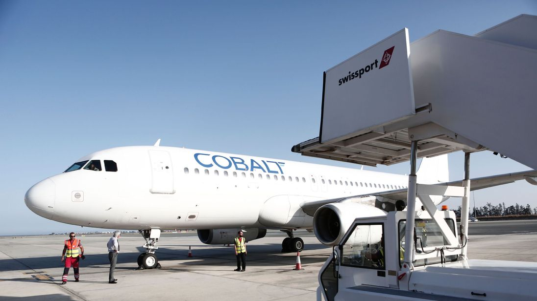 Cypriot airline Cobalt cancels all flights from Stansted