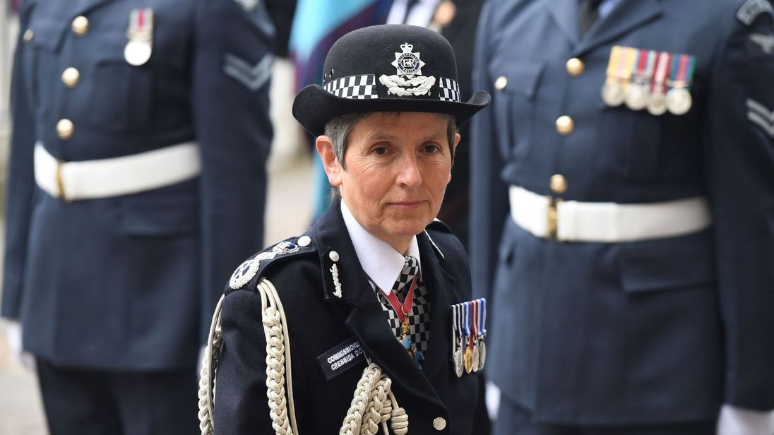 Scotland Yard's most senior police officer Cressida Dick has defended her deputy
