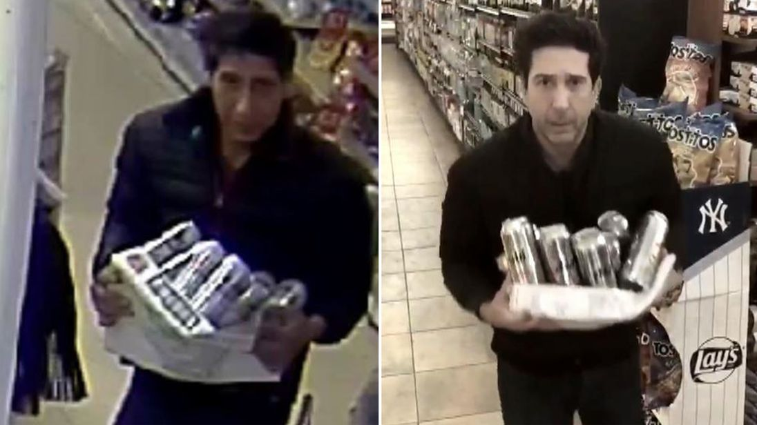 Friends star David Schwimmer lookalike fails to turn up to court on charges of theft and fraud