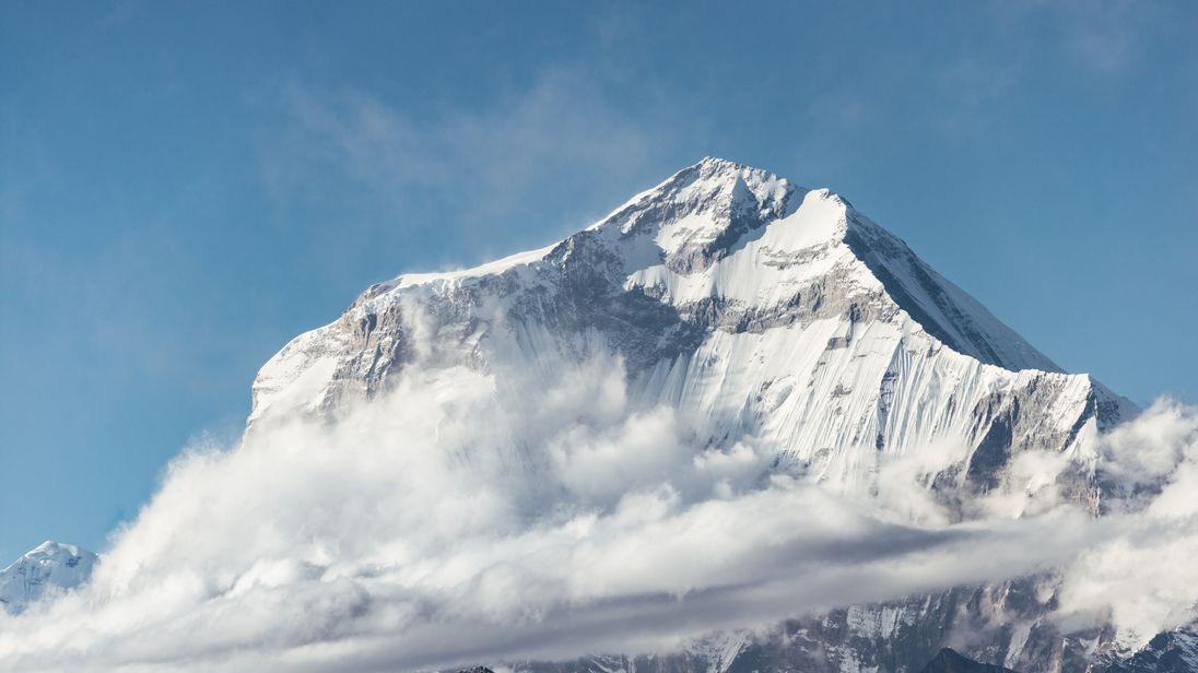 Dhaulagiri is the seventh highest mountain in the world