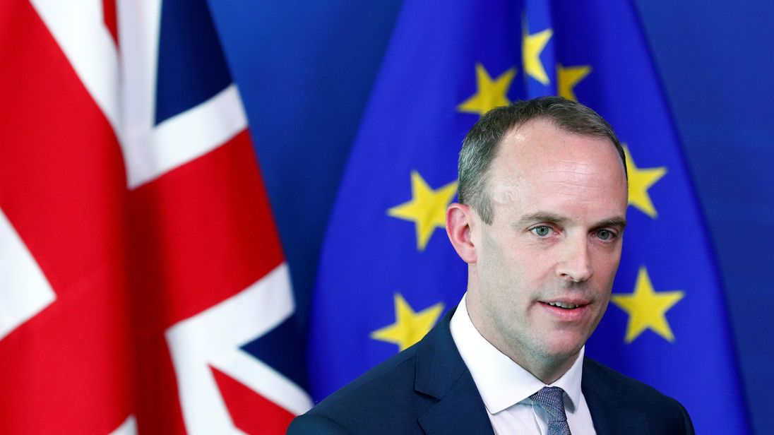 'End is in sight for a good deal on Brexit', says Dominic Raab