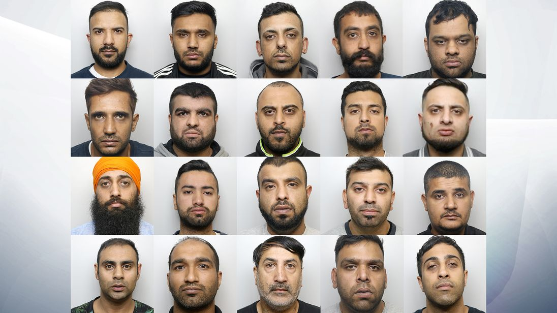 20 members of Muslim rape gang found guilty