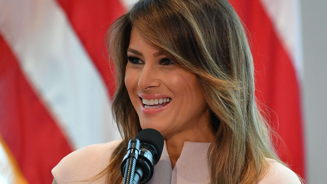 Melania Trump Begins 4-Country Tour of Africa