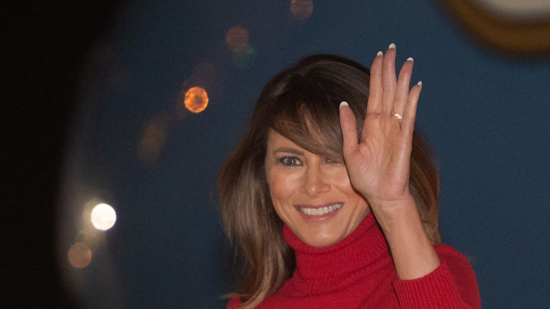 Melania Trump has said rumours of her husband's affairs are not a concern