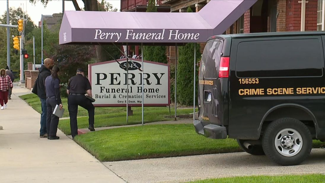 Authorities retrieve 63 remains of fetuses from Detroit funeral home