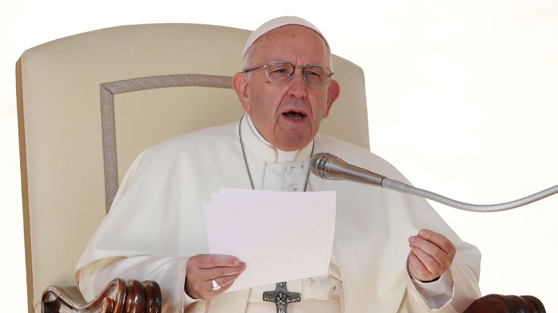 Pope compares having an abortion to 'hiring a hit man'