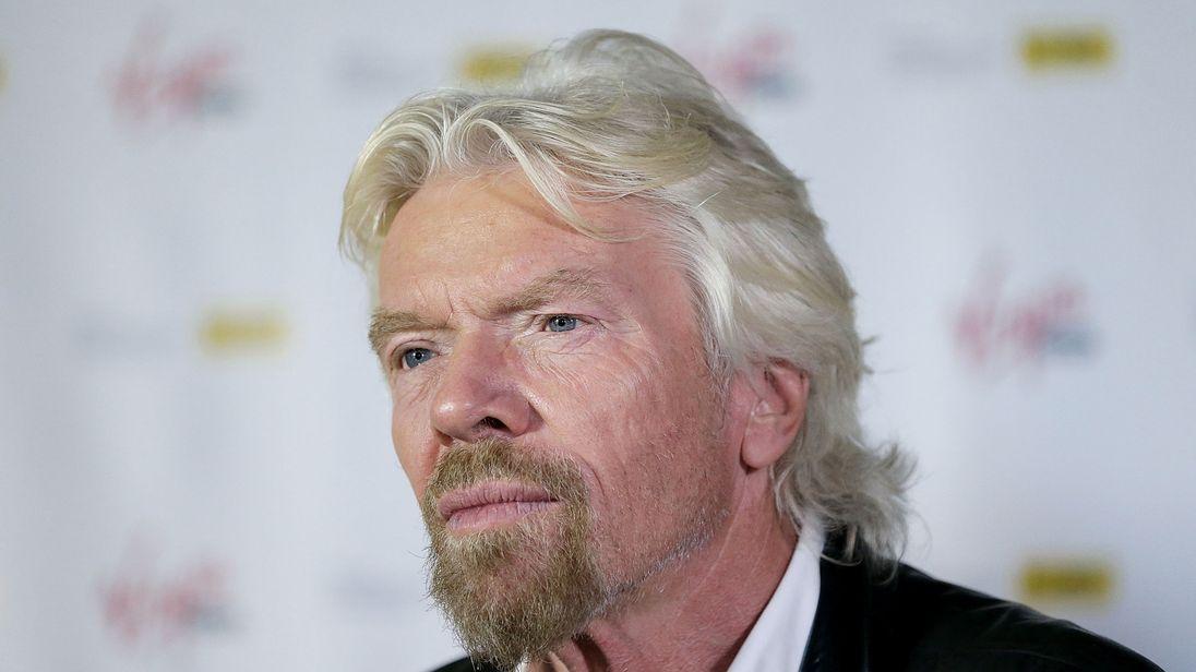Sir Richard Branson has suspended ties with Saudi Arabia