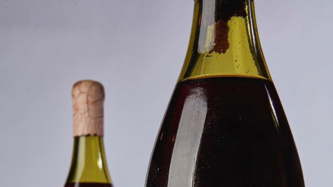 French wine fetches record-breaking $558,000 at auction