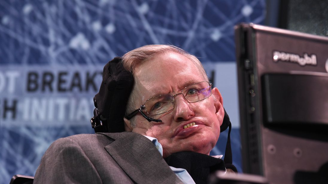 Stephen Hawking's wheelchair sells at charity auction