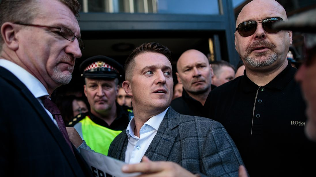 'Grave concern' MPs demand Mike Pompeo BLOCK Tommy Robinson visit