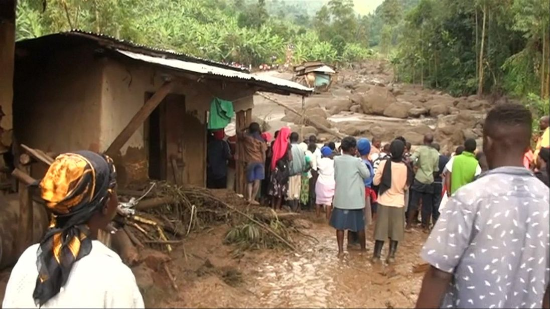 Landslide in eastern Uganda kills at least 31 people: govt official