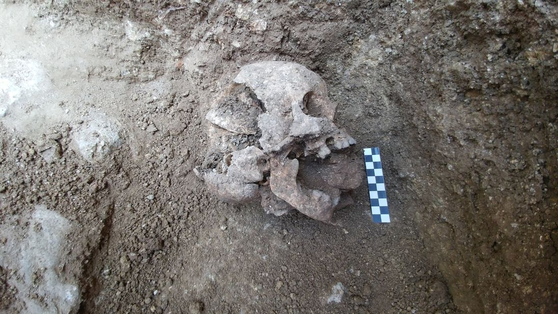 'Child VAMPIRE' burial ground discovered on archaeological dig in Italy