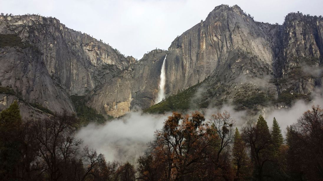 Two killed in fall from overlook in Yosemite National Park