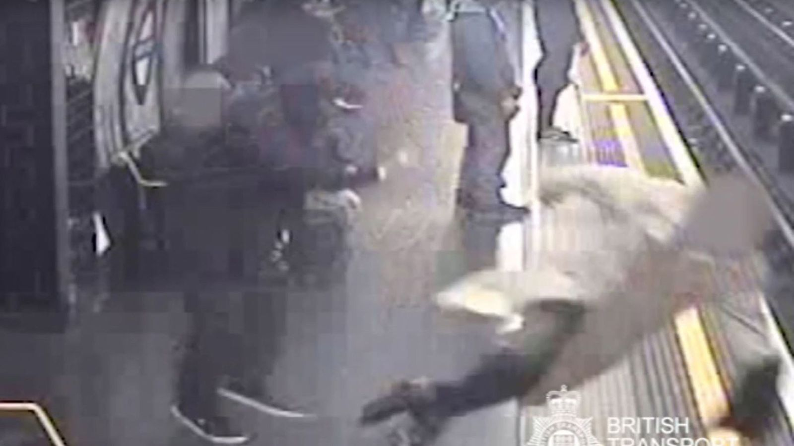 Tube Pusher Guilty Cctv Shows Moment 91-Year-Old Man Sent -7932