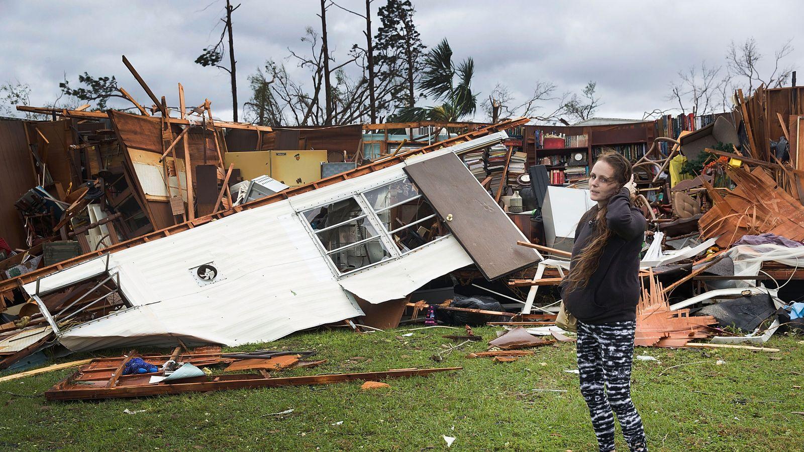 Hurricane Michael: Girl, 11, dies as tree falls on home