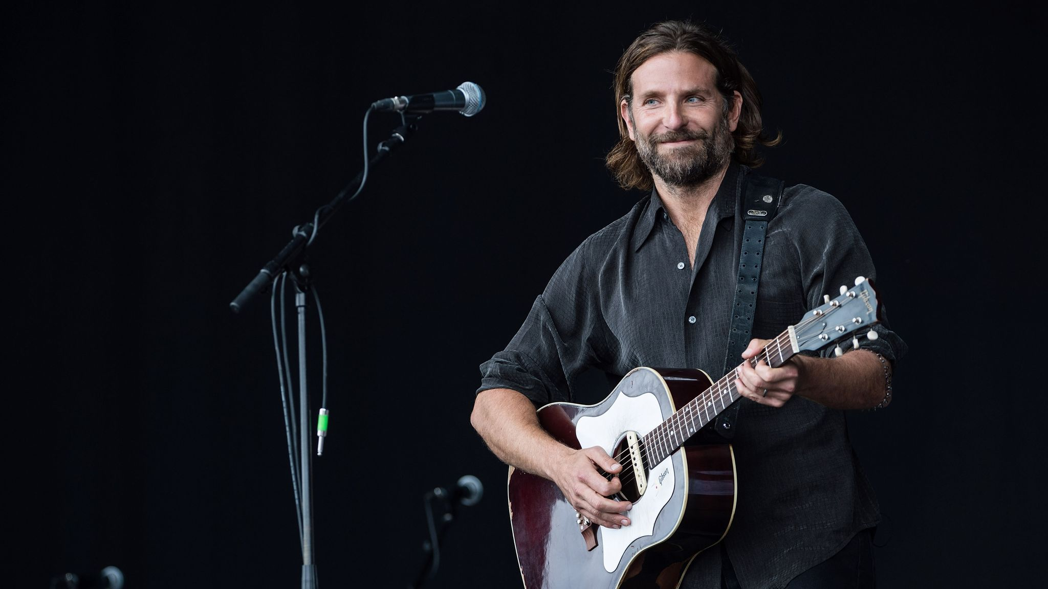 Bradley Cooper Hints At Playing Glastonbury For Real After A Star