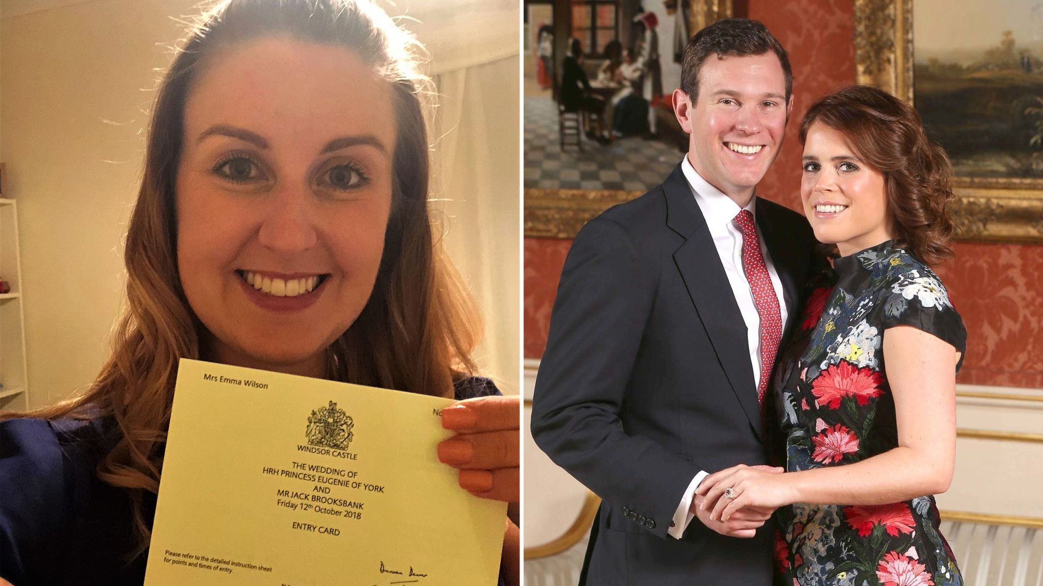 Royal Wedding 2018 Time.I M So Excited To Be Going To Eugenie And Jack Brooksbank S Royal
