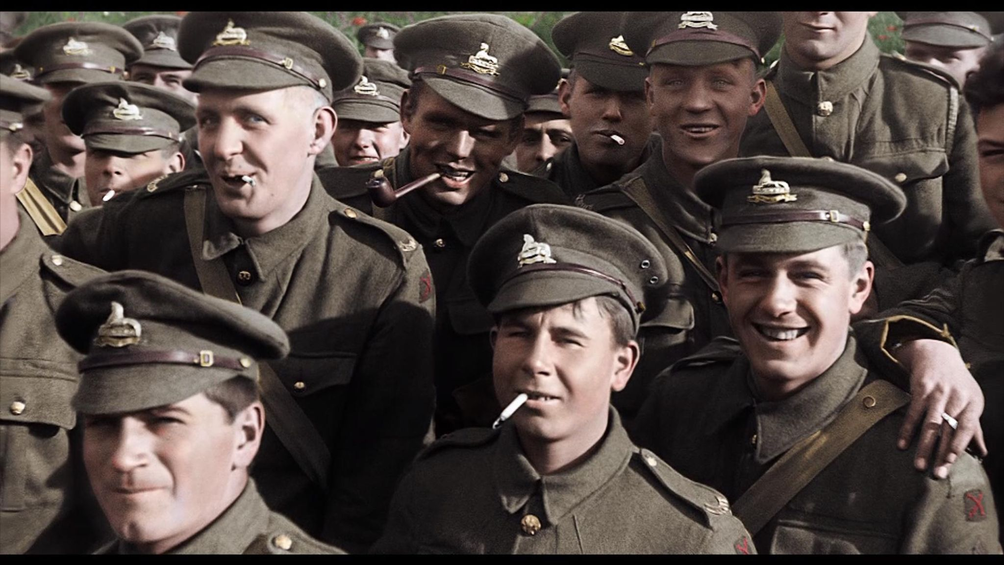 WWI in colour: Footage restored by director Peter Jackson