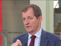 Former Tony Blair spokesman Alastair Campbell defends his comments about anti-war marchers after being questioned by Sophy Ridge about the People's Vote march.