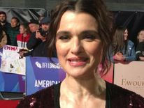 Rachel Weisz appears on the red carpet for latest film role The Favourite