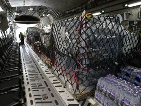 The UK provided aid to areas affected by Hurricane Irma