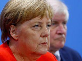 Angela Merkel and Horst Seehofer have been at loggerheads