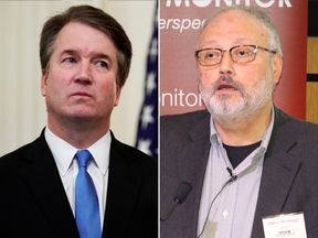 Brett Kavanaugh and Jamal Khashoggi