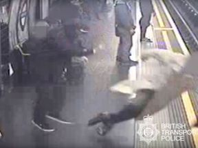 Sir Robert Malpas, 91, was violently shoved onto the tracks at Marble Arch station