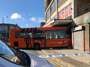 The crash happened in Shipley. Pic: Daz Midgley